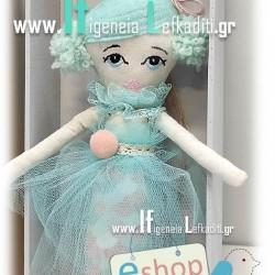 Λαμπάδα για κορίτσια με χειροποίητη κούκλα ΓΟΡΓΟΝΑ