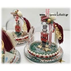 Χριστουγεννιάτικο δώρο - γούρι 2022 «Καρυοθραύστης» με ευχές