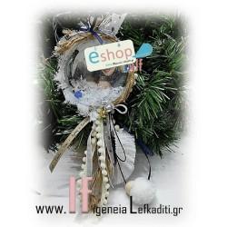 Χριστουγεννιάτικη χιονόμπαλα με φωτογραφία και ευχές!