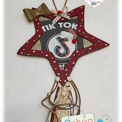 Χριστουγεννιάτικο αστέρι ΤΙΚ ΤΟΚ