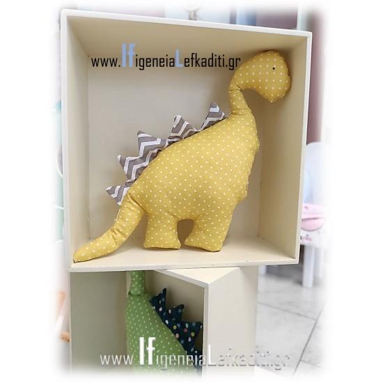 Υφασμάτινο ζωάκι δεινόσαυρος