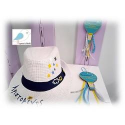 Χειροποίητο ζωγραφιστό καπέλο