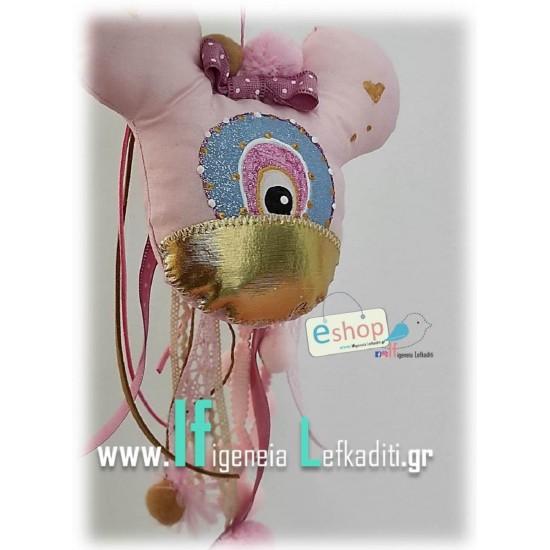 """Δώρο για νεογέννητο- νεοφώτιστο """"Mάτι Minnie"""""""