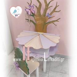 Χειροποίητο έπιπλο «Μαγική Νεράϊδα το πρώτο της γραφείο δέντρο ζωής»