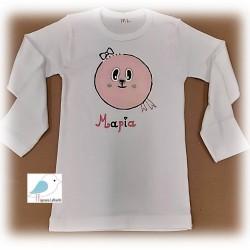 Χειροποίητο Ζωγραφιστό μπλουζάκι Ζωάκι