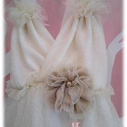 Αρχαιoελληνικό στυλ φόρεμα βάπτισης Little angel