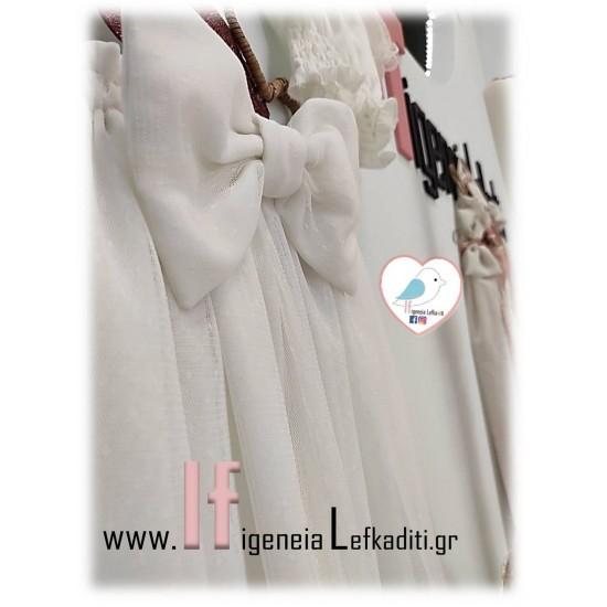 Βαπτιστικό Φόρεμα «Η ΑΛΙΚΗ ΣΤΗΝ ΧΩΡΑ ΤΩΝ ΘΑΥΜΑΤΩΝ»