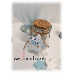 Μπομπονιέρα - Δωράκι ΑΕΡΟΠΛΑΝΟ ΤΑΞΙΔΙΑ με μίνι αρωματικά σαπουνάκια