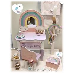 Βαπτιστικό σετ για κορίτσι «Ουράνιο τόξο»