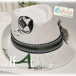 Χειροποίητο παιδικό καπέλο «Ποδόσφαιρο»